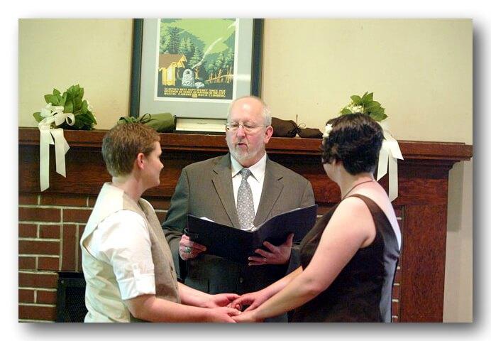 Same-Sex Weddings Joyfully Offered!