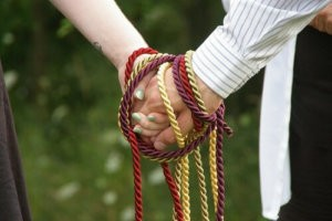 Handfasting, an Ancient Wedding Tradition.